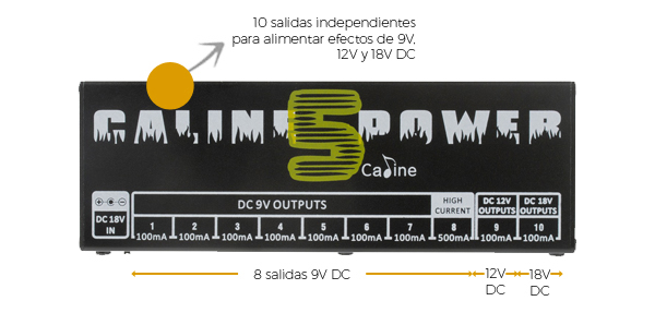 Fuente de poder Caline CP-05