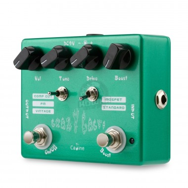 "Overdrive Booster ""Crazy Cacti"" Caline CP-20"