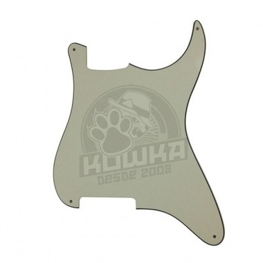 Pickguard para Stratocaster 3ply Mint Green Virgen